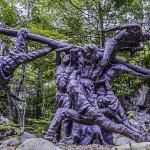 More concrete creations from Ivan's Sculpture Garden.